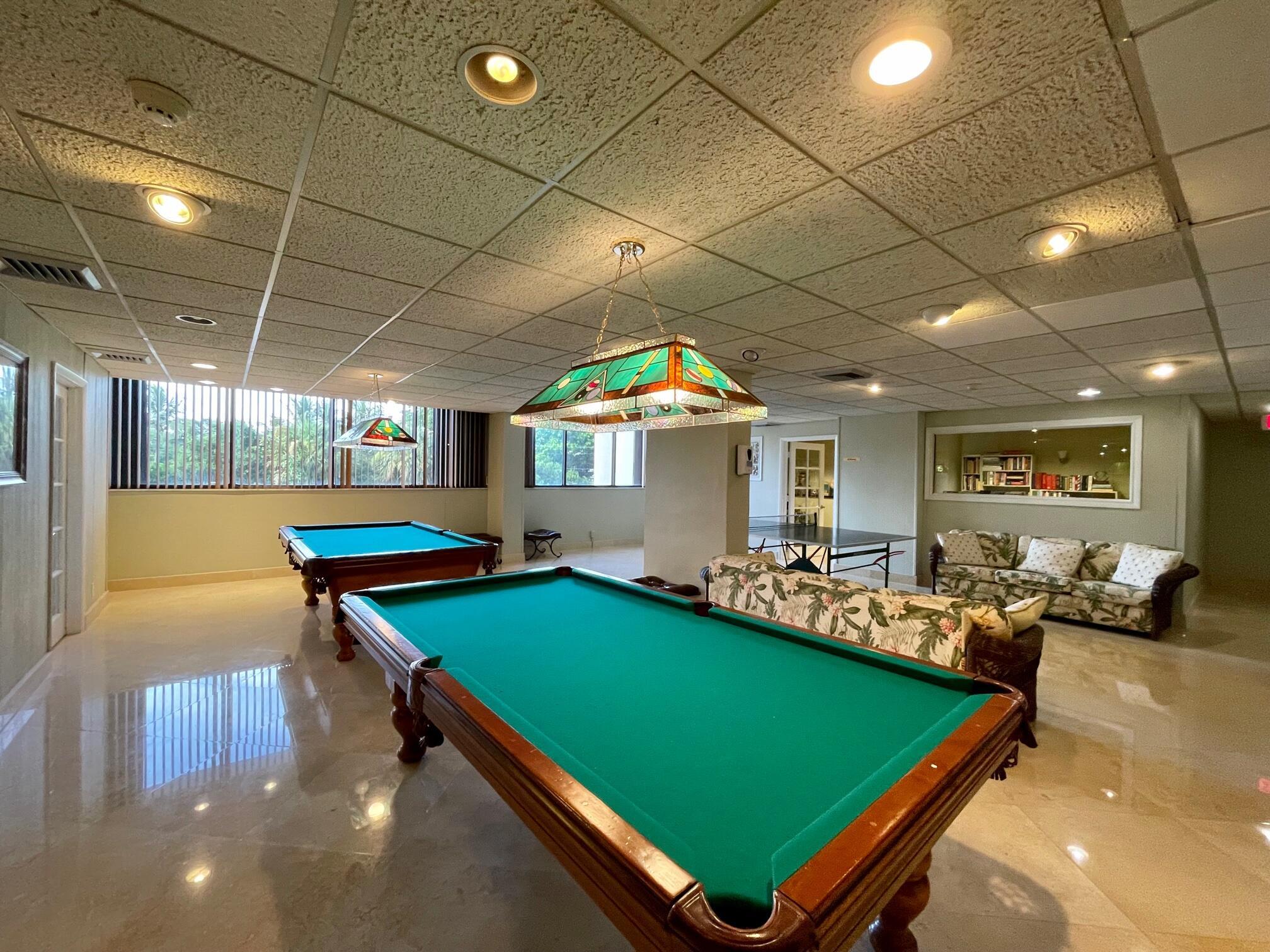 Condo Game Room