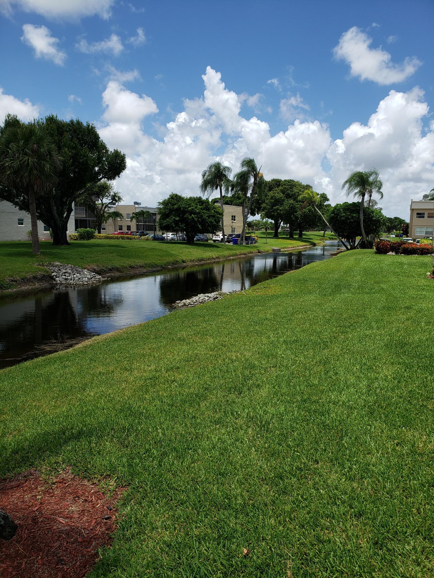 Canal & Garden View