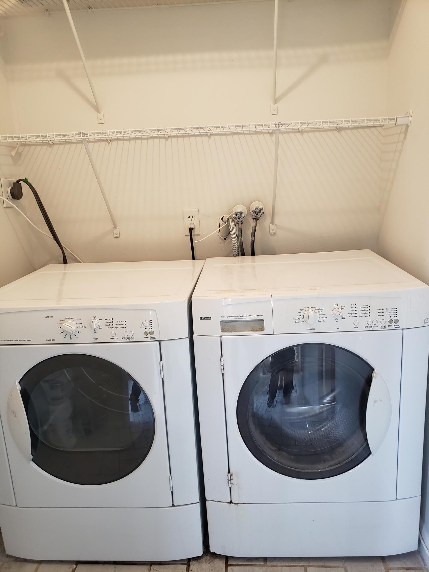 Newer Washer & Dryer