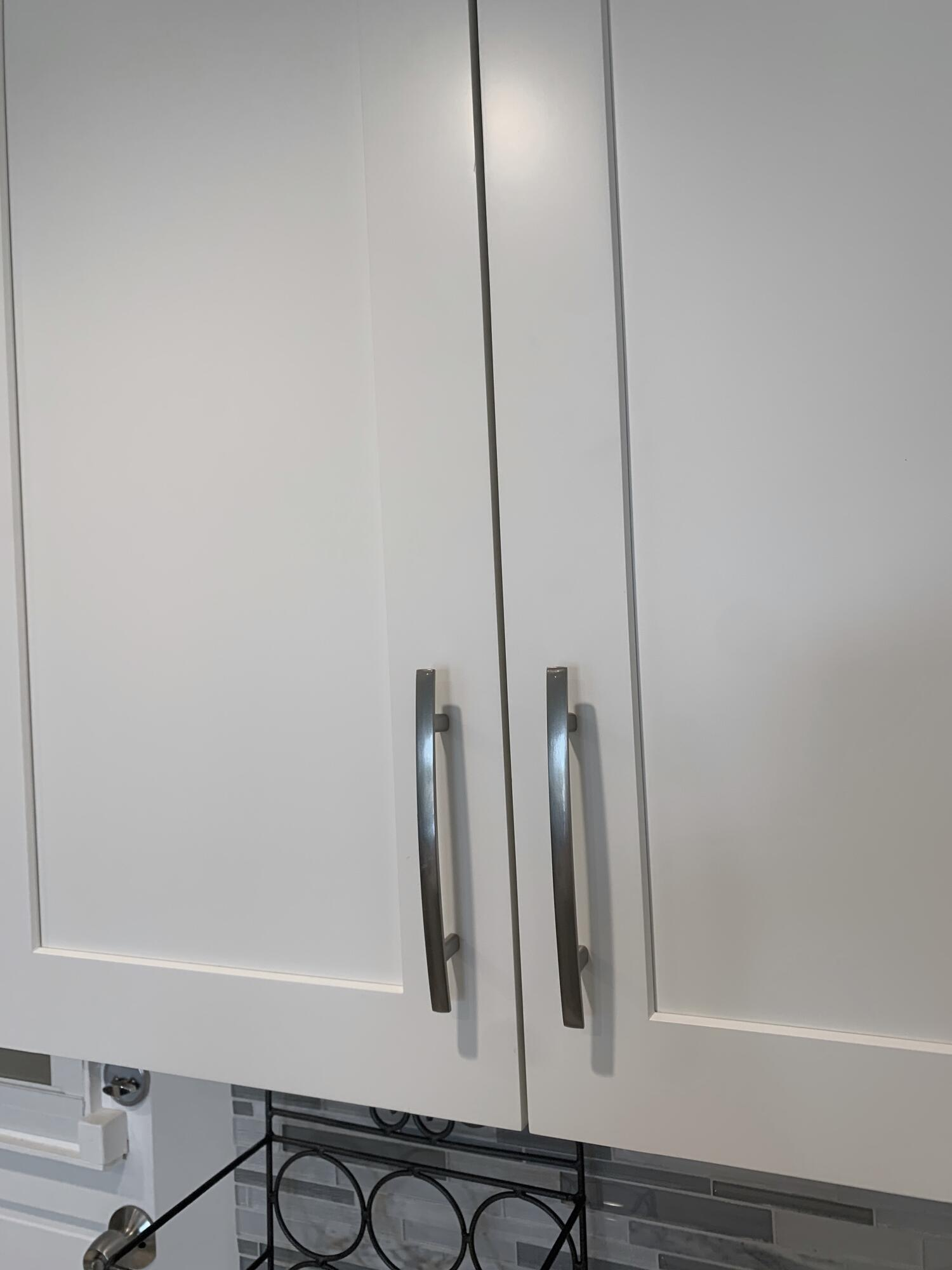 Soft touch shaker cabinets