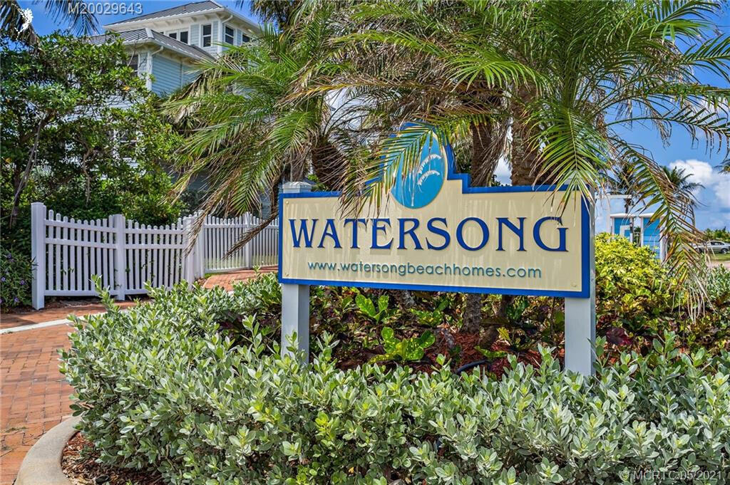 Watersong sign