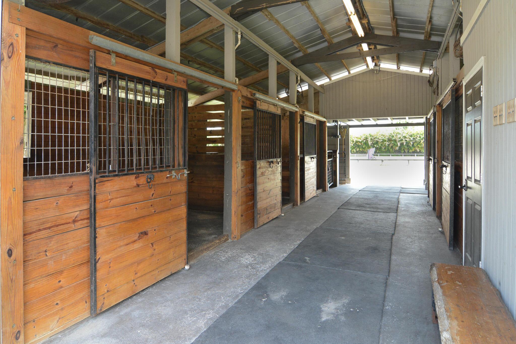 5 Stalls
