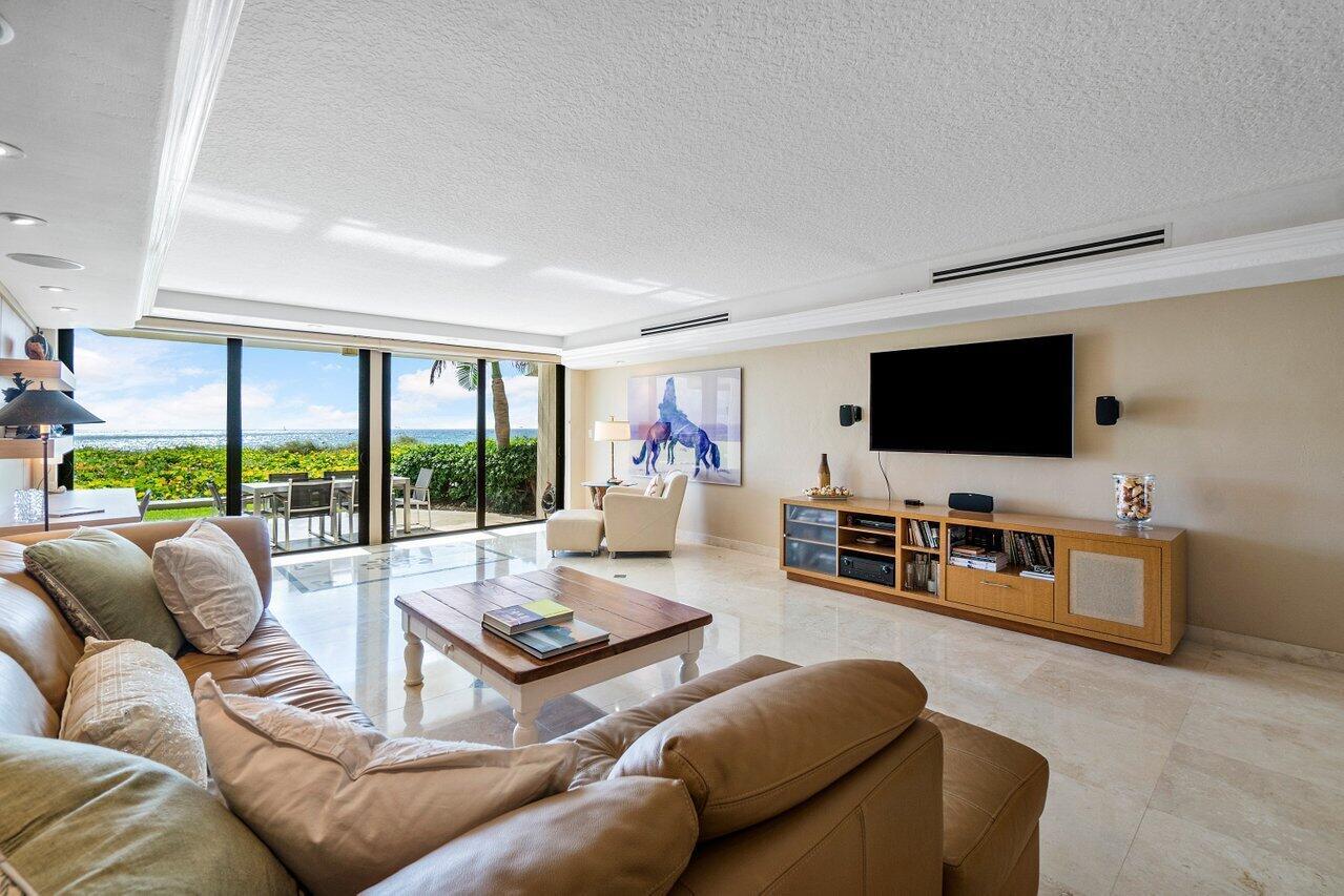 Living Area - Ocean Views