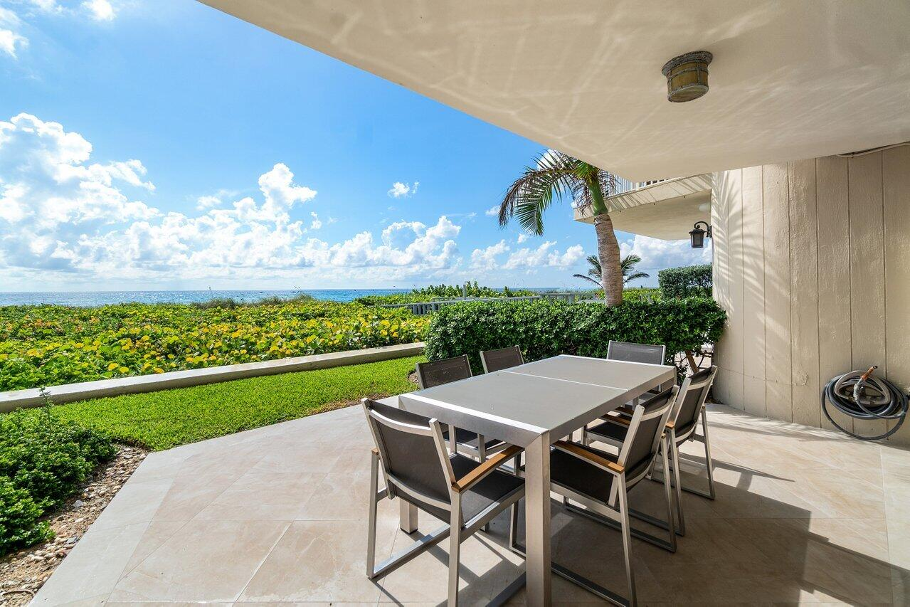 Oceanfront Patio - Walk Out to the Sand