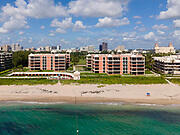 Fabulous views East & South of the ocean, beach & sky! Rarely available Direct Oceanfront Apartment. Covered SE corner balcony with ocean views, plus views to pool area and sky. Hurricane impact doors.