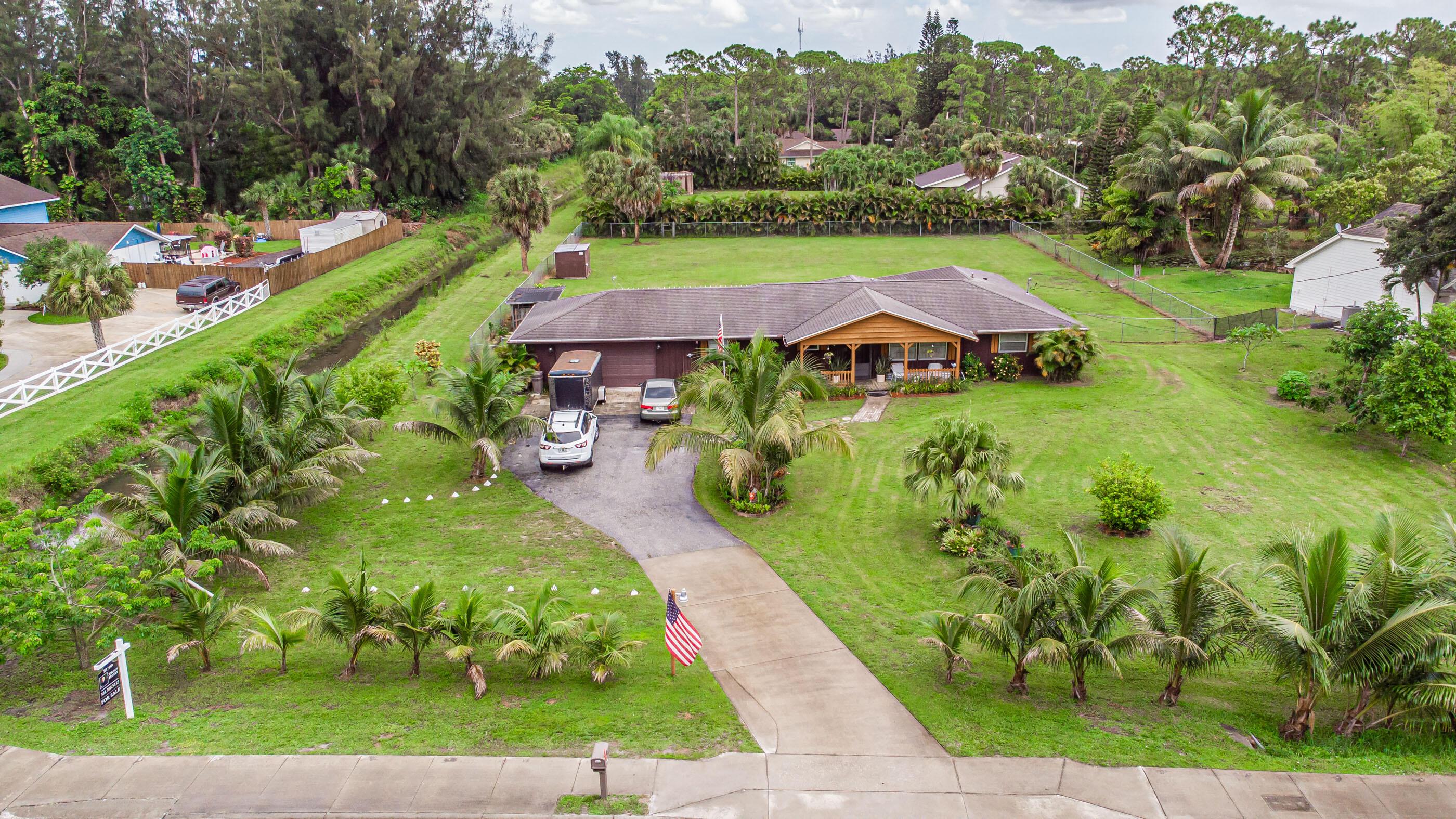 Home for sale in ROYAL PALM ACREAGE The Acreage Florida