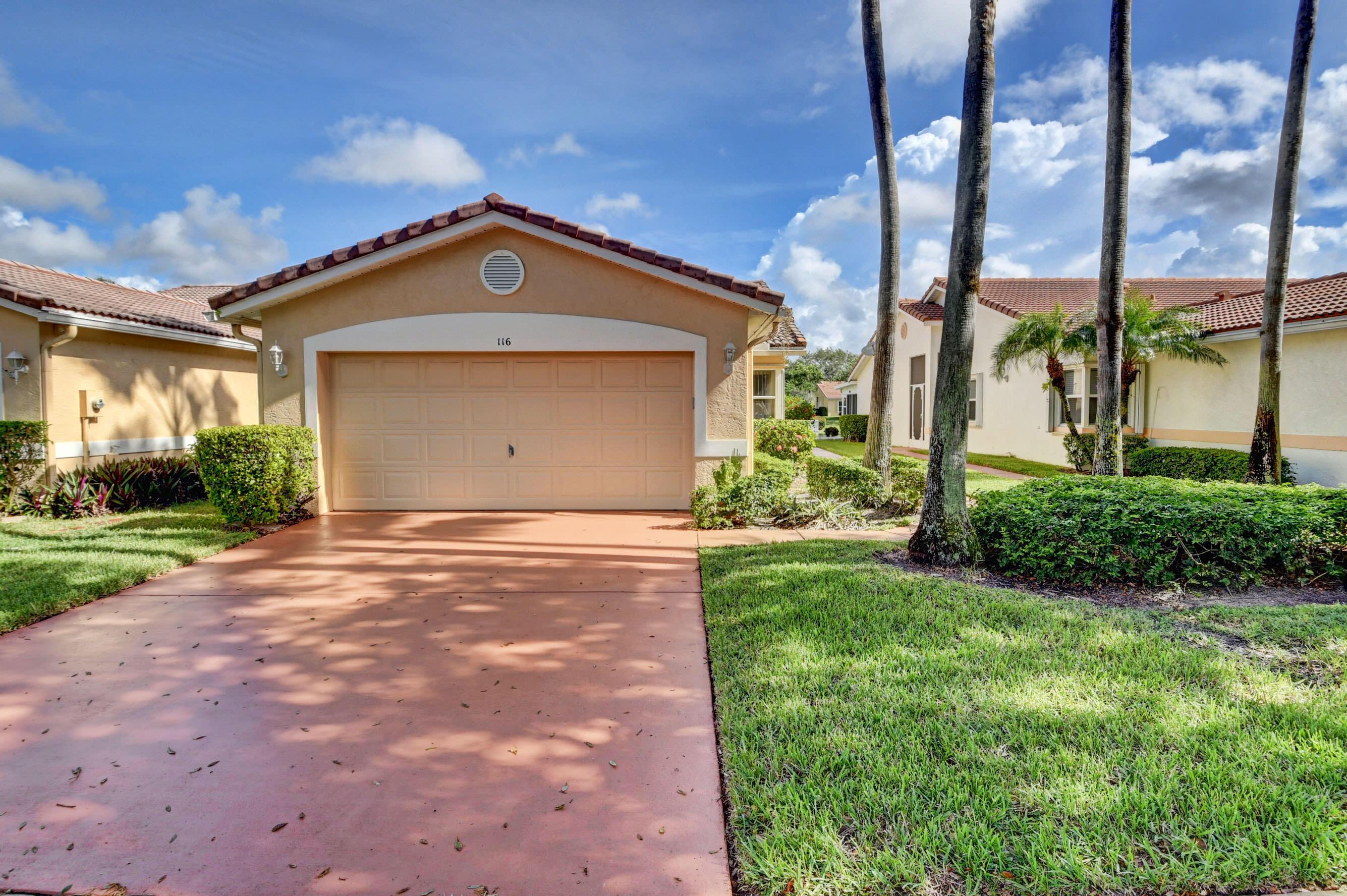 116 Sausalito Drive Boynton Beach, FL 33436