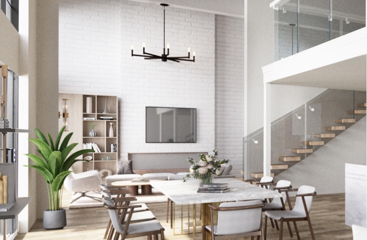 1 Rendering 306 - Living and Dining copy