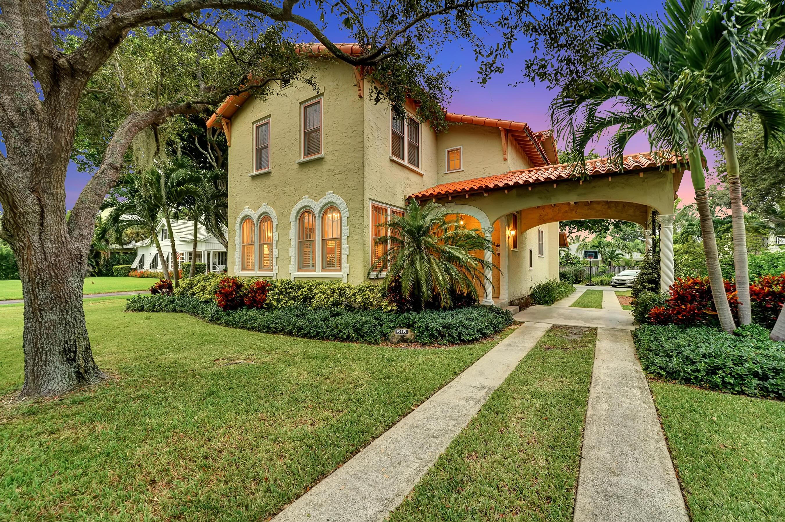 Home for sale in Historic Swinton Avenue Delray Beach Florida