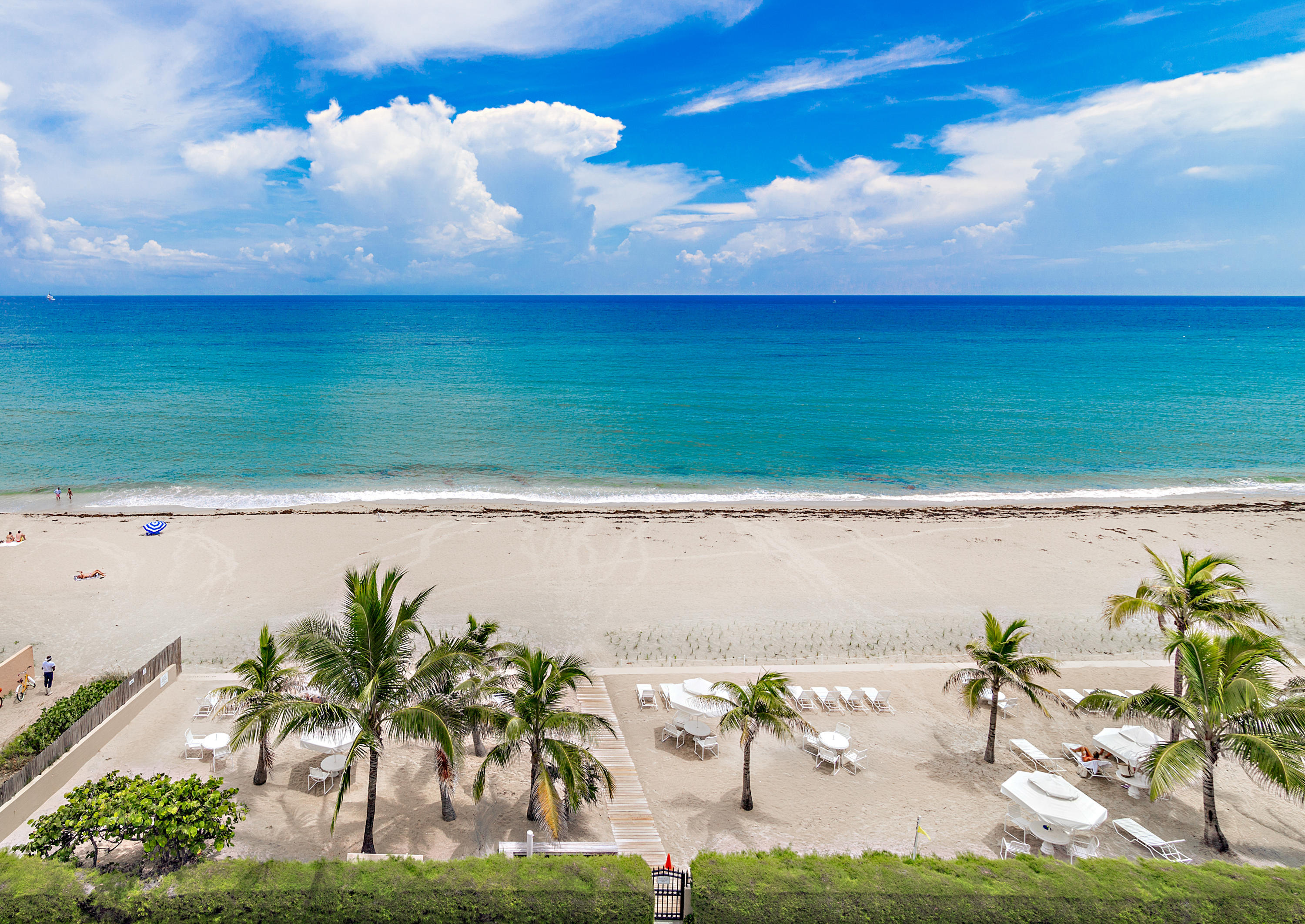 Private deeded beach parcel
