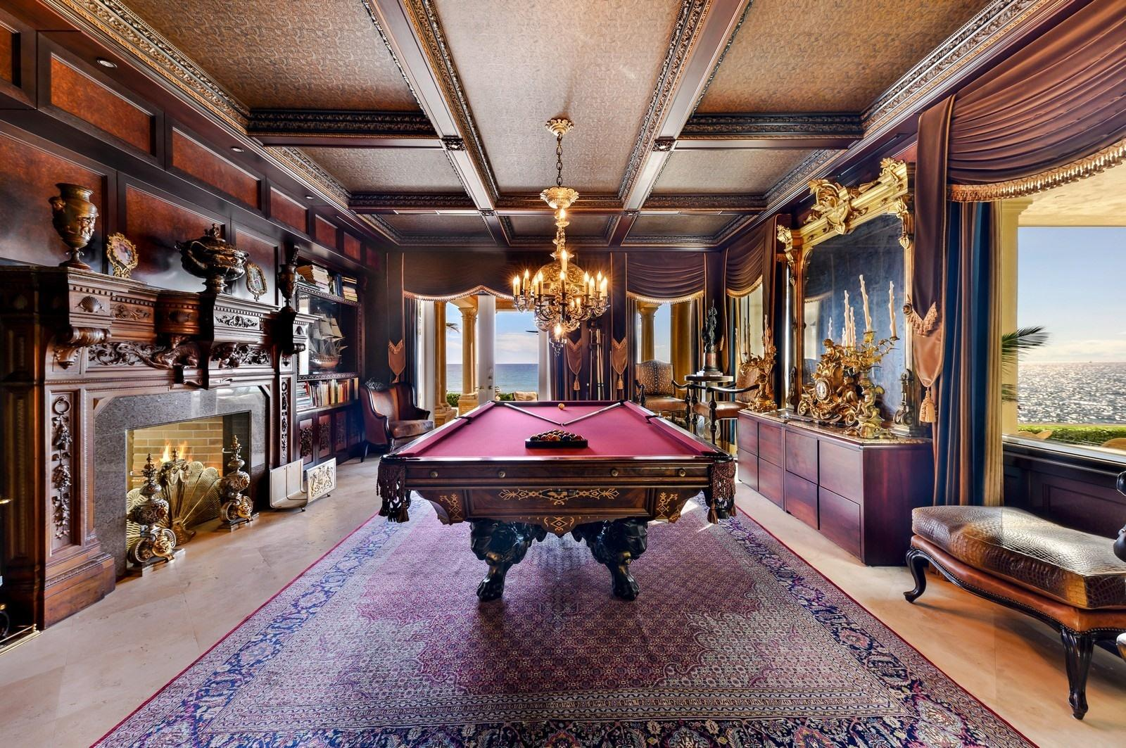Library/Office/Billiards Parlor