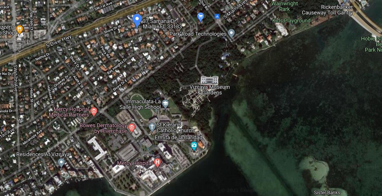 37 Samana Drive Satellite Map