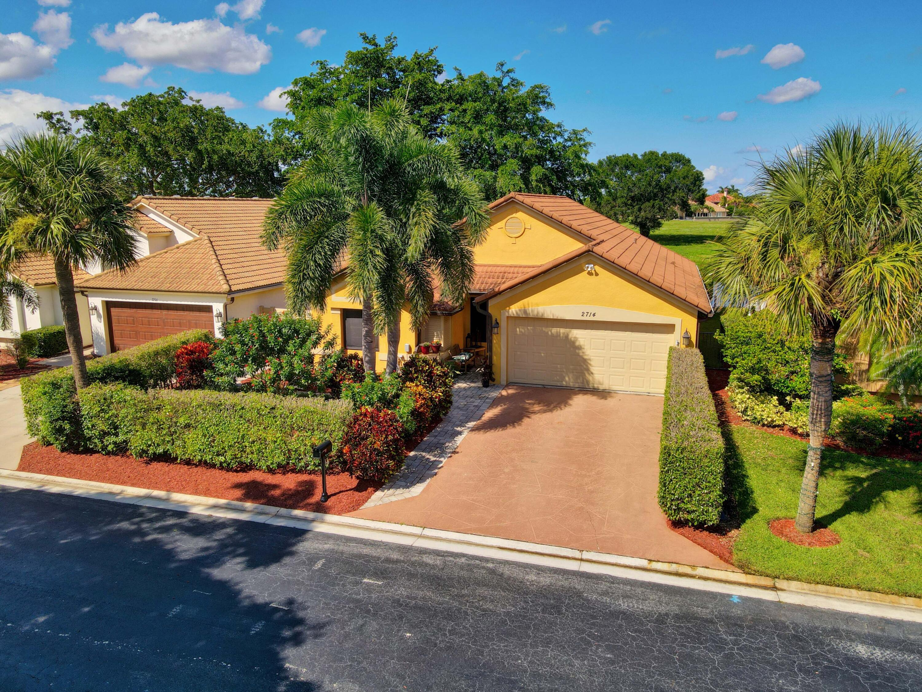 Home for sale in Fairway Cove Wellington Florida