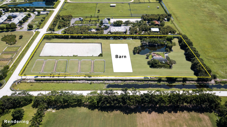 Rendering of Horse Farm