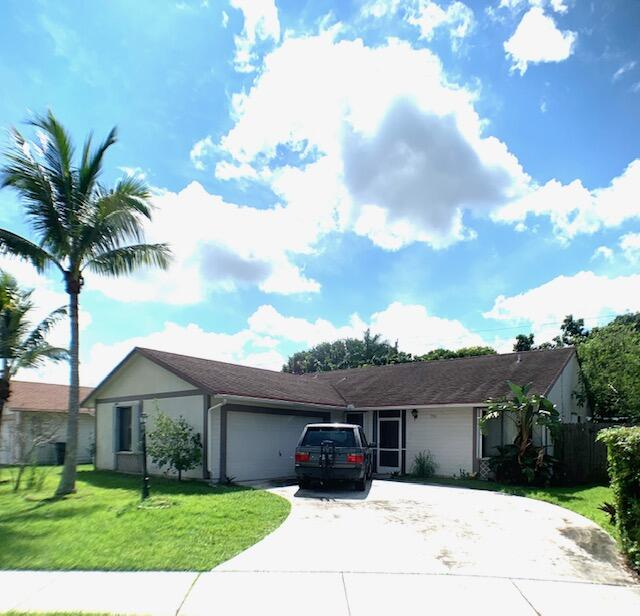 Home for sale in Countrywood Lake Worth Florida