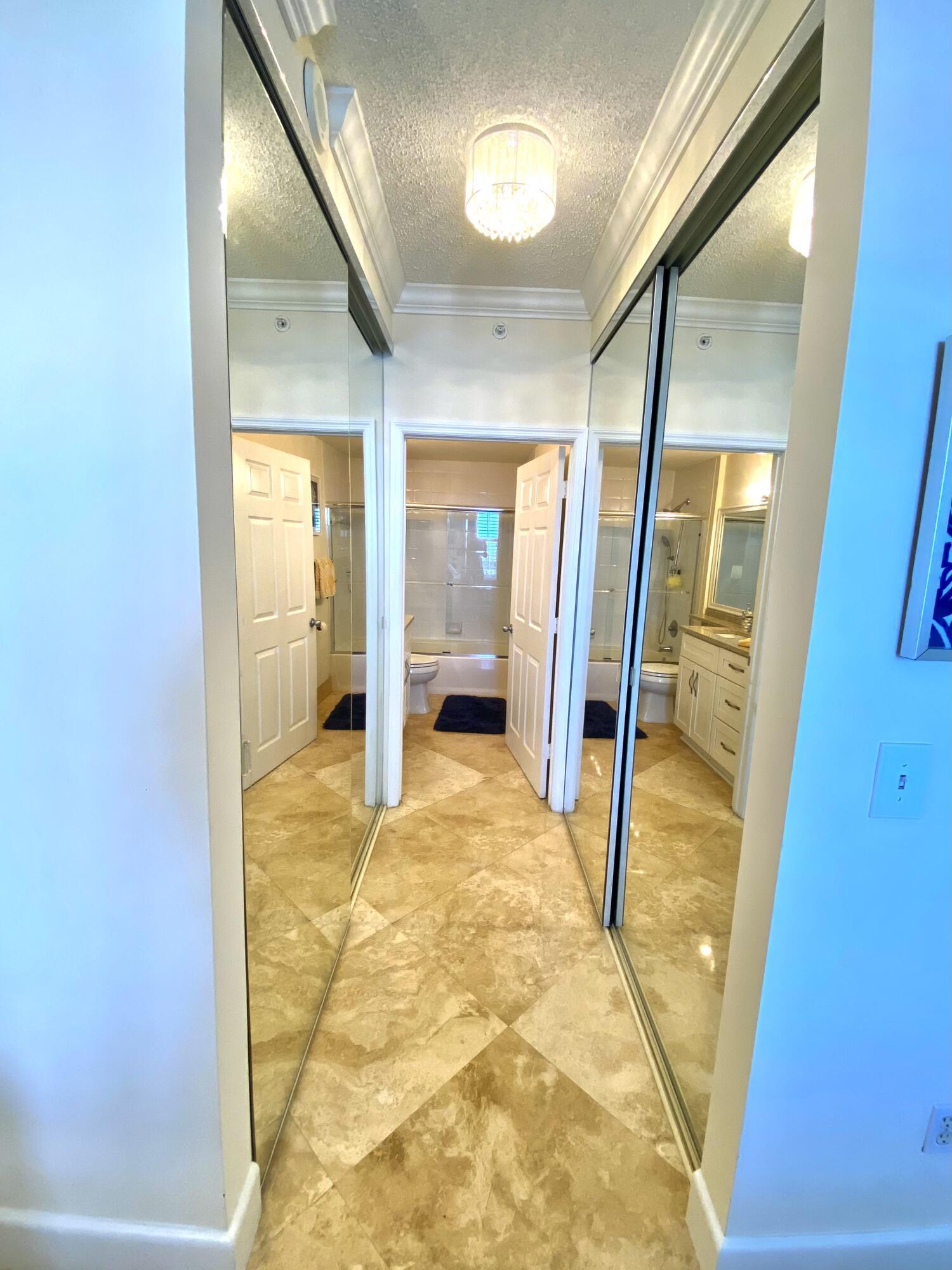 Master Hallway and Closets