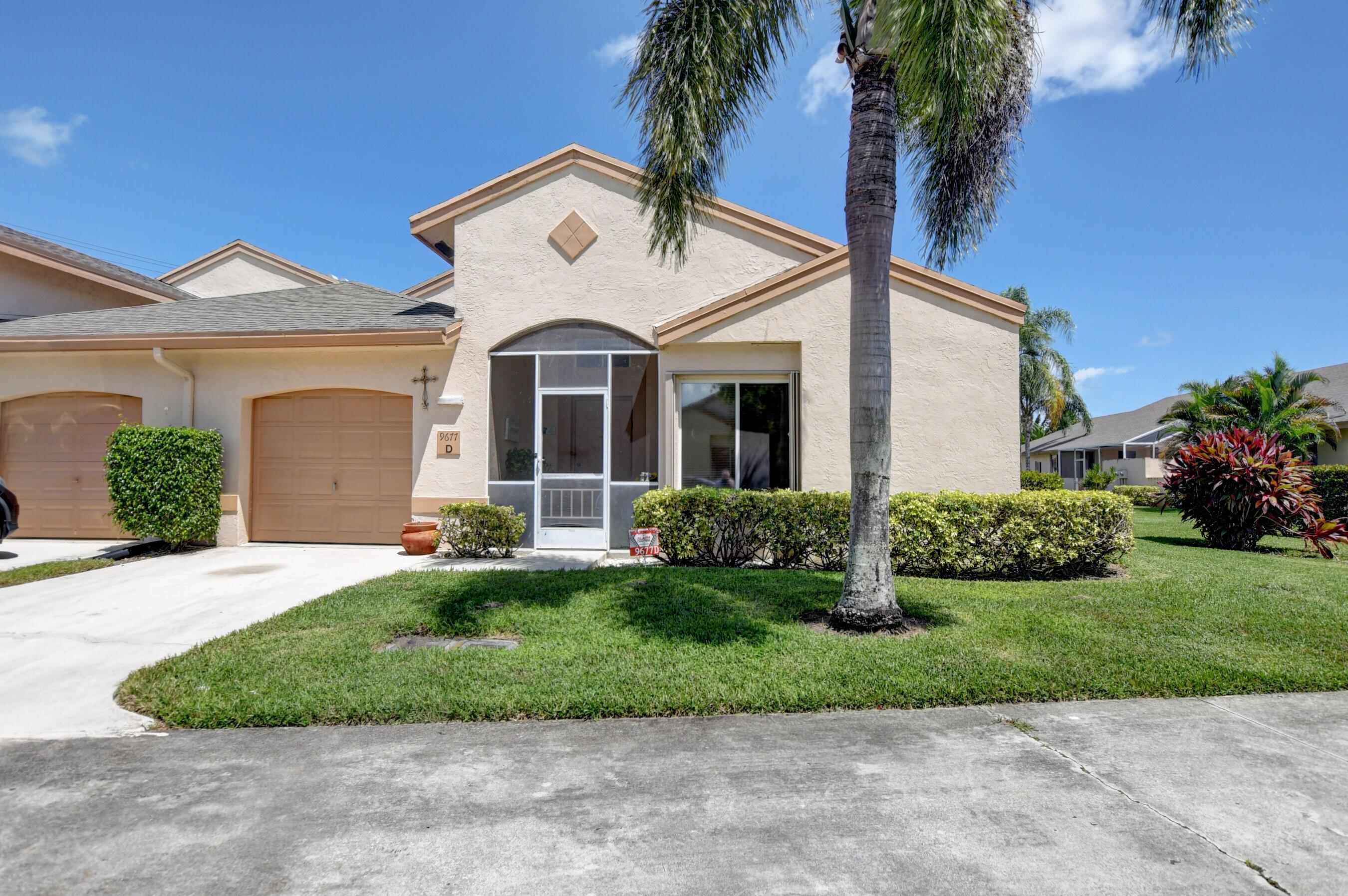 9677  Boca Gardens Circle D For Sale 10746680, FL