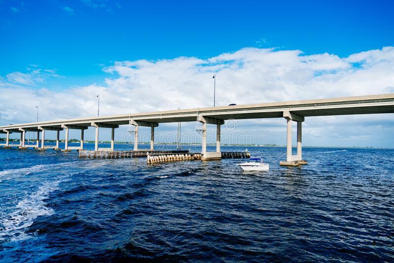 Cross Punta Gorda bridge