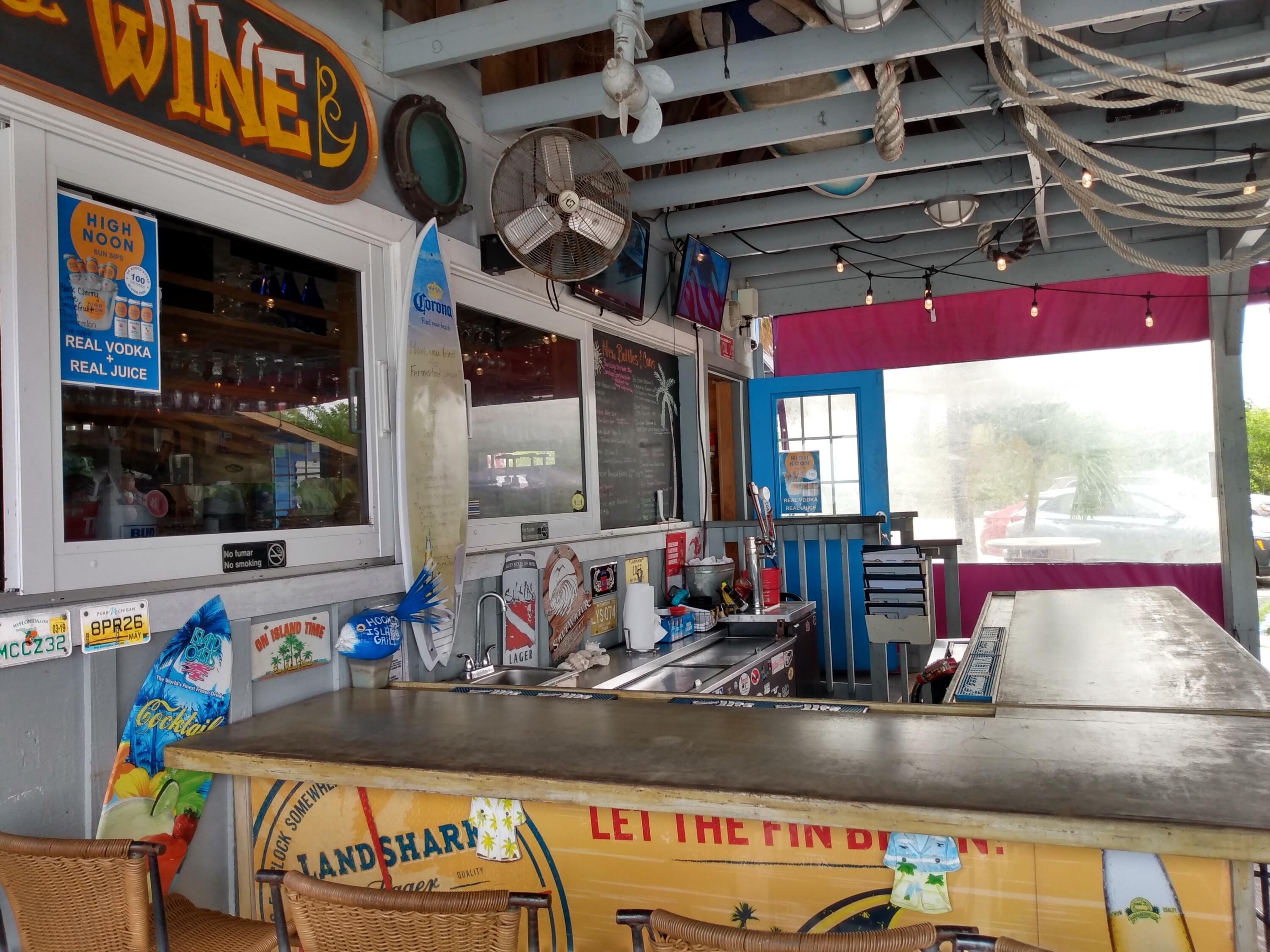Local Cantina on the bay