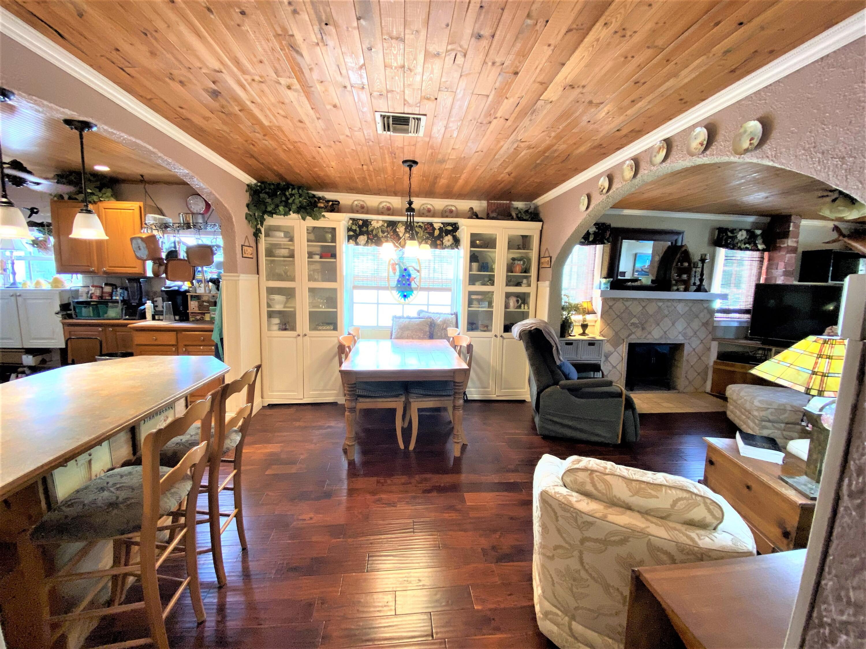 BUILT IN CURIO CABINETS