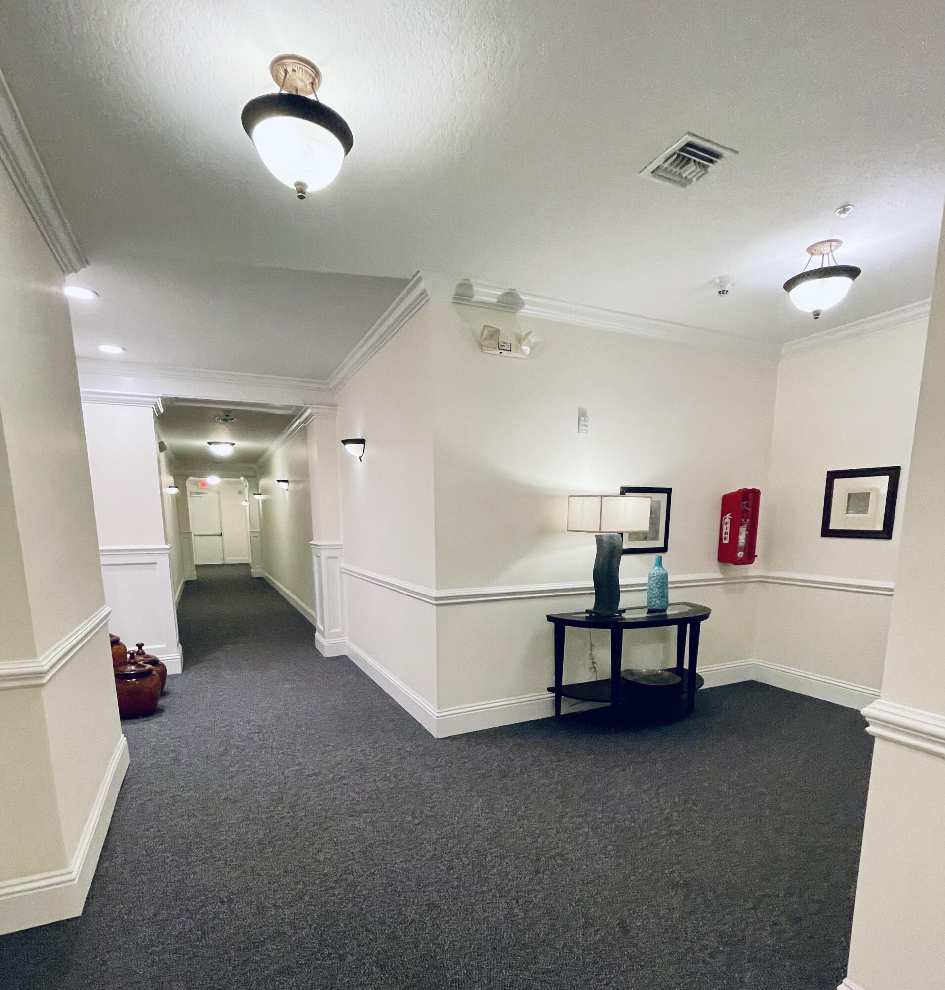 Interior halls