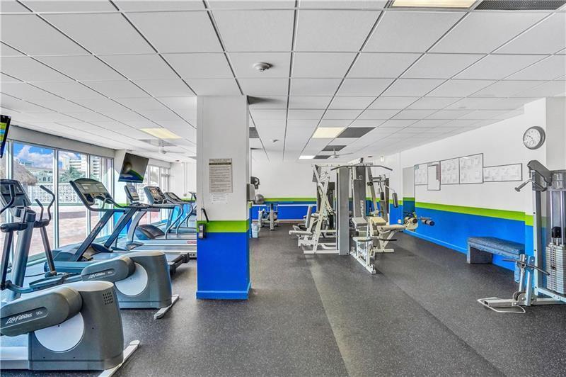 parliament - gym