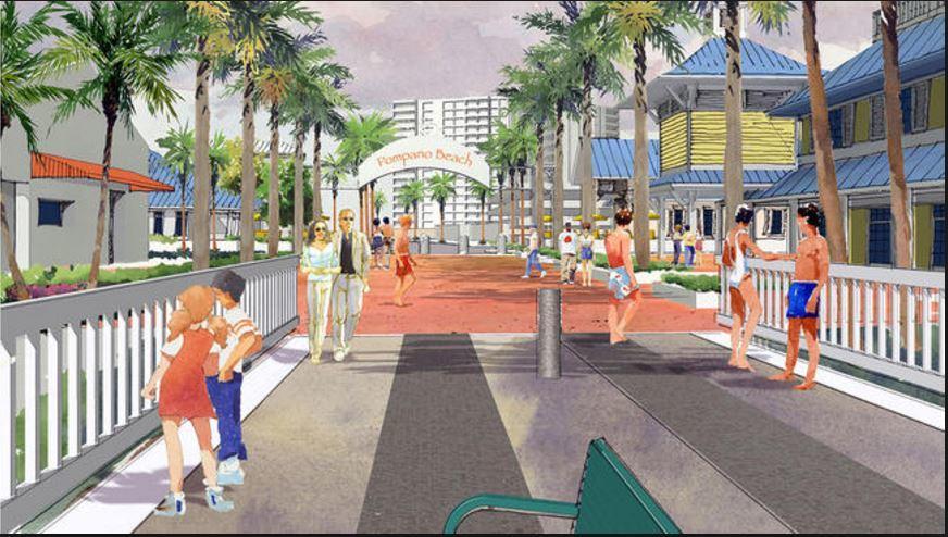 Parliament Pomapno Beach New Pedestrian