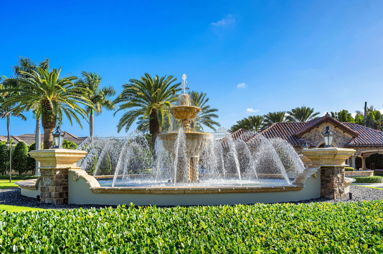 Fountain at Entrance