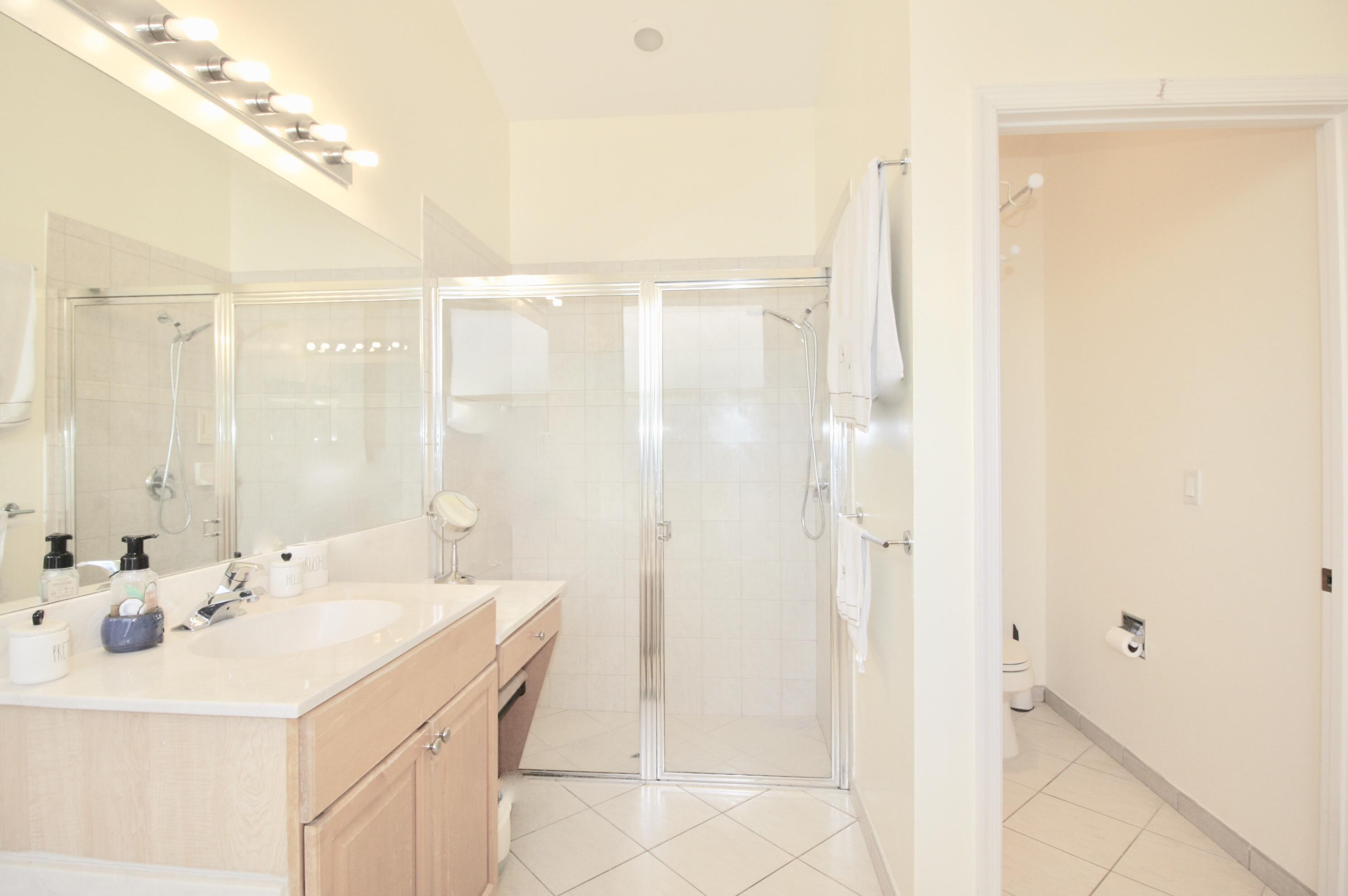 MASTER BATHROOM WITH SEPERATE SHOWER