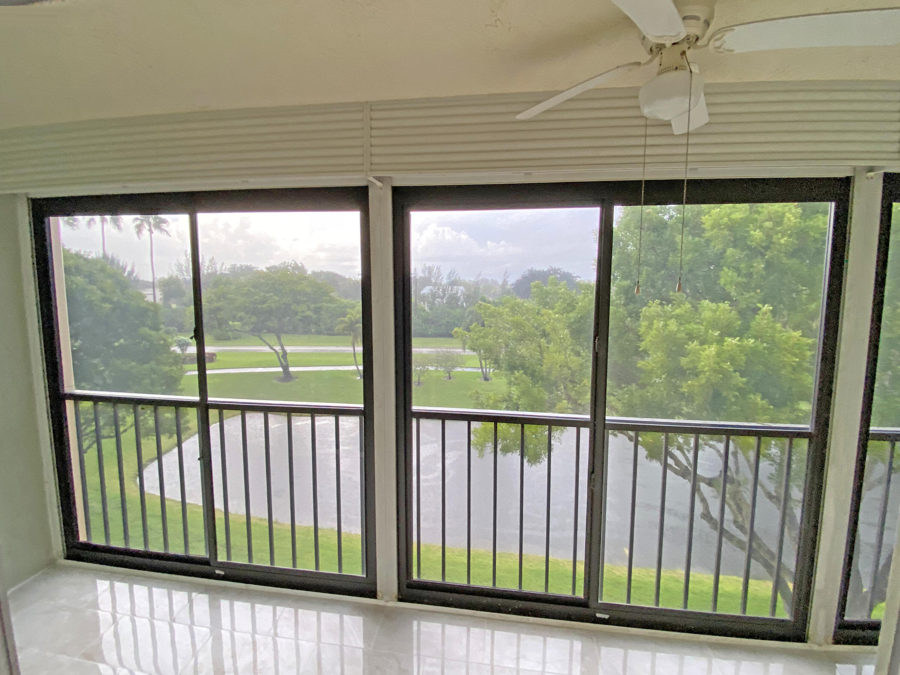 View from living room