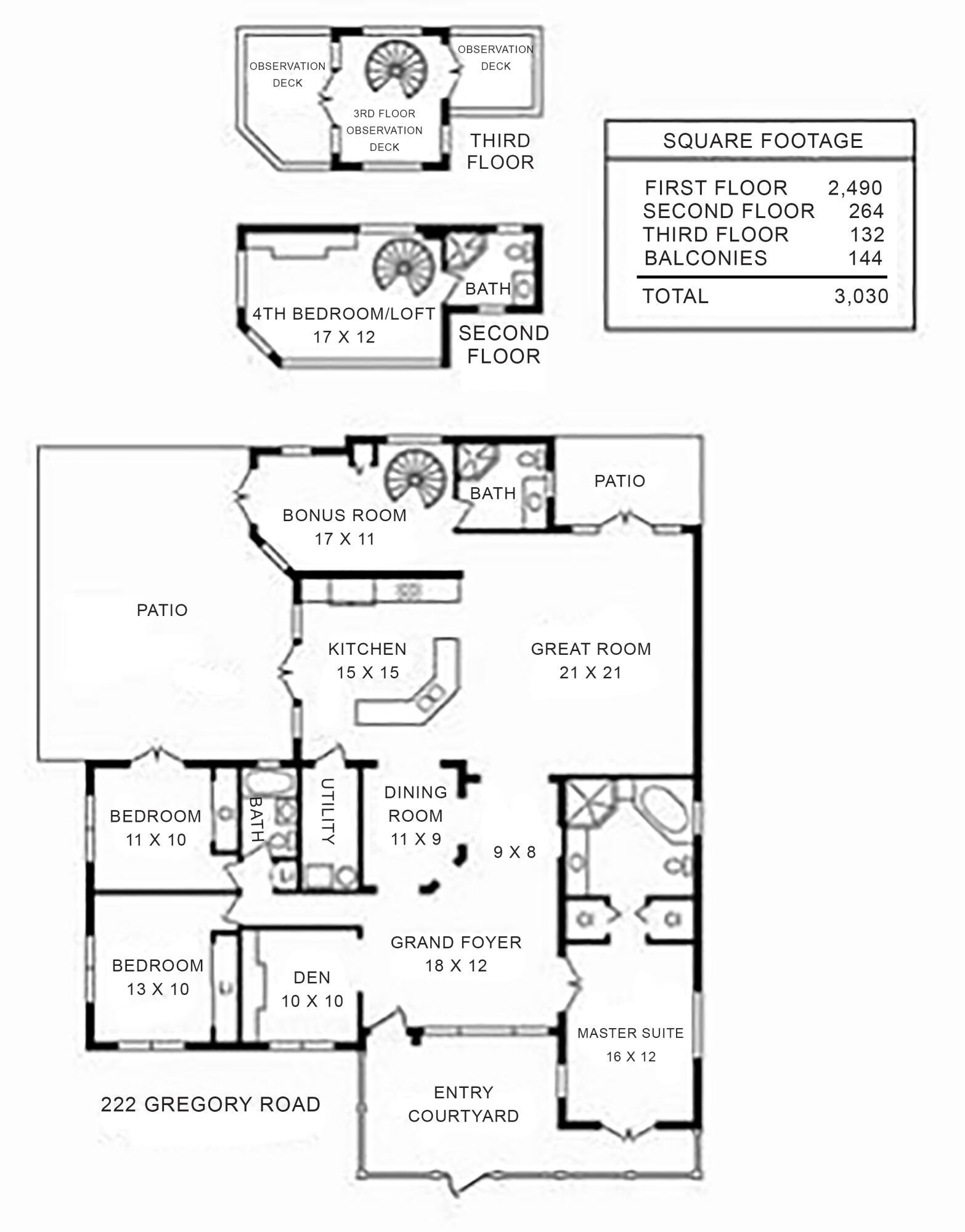 Floor Plan 222 Gregory Road copy