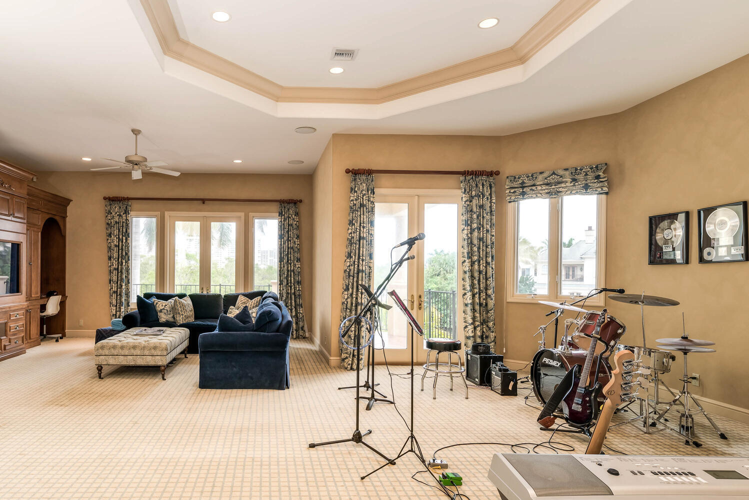 Music and Media Room