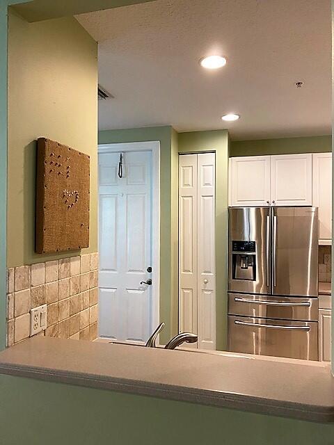 Kitchen and garage door