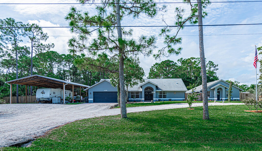 Home for sale in Royal Palm Beach Acreage The Acreage Florida