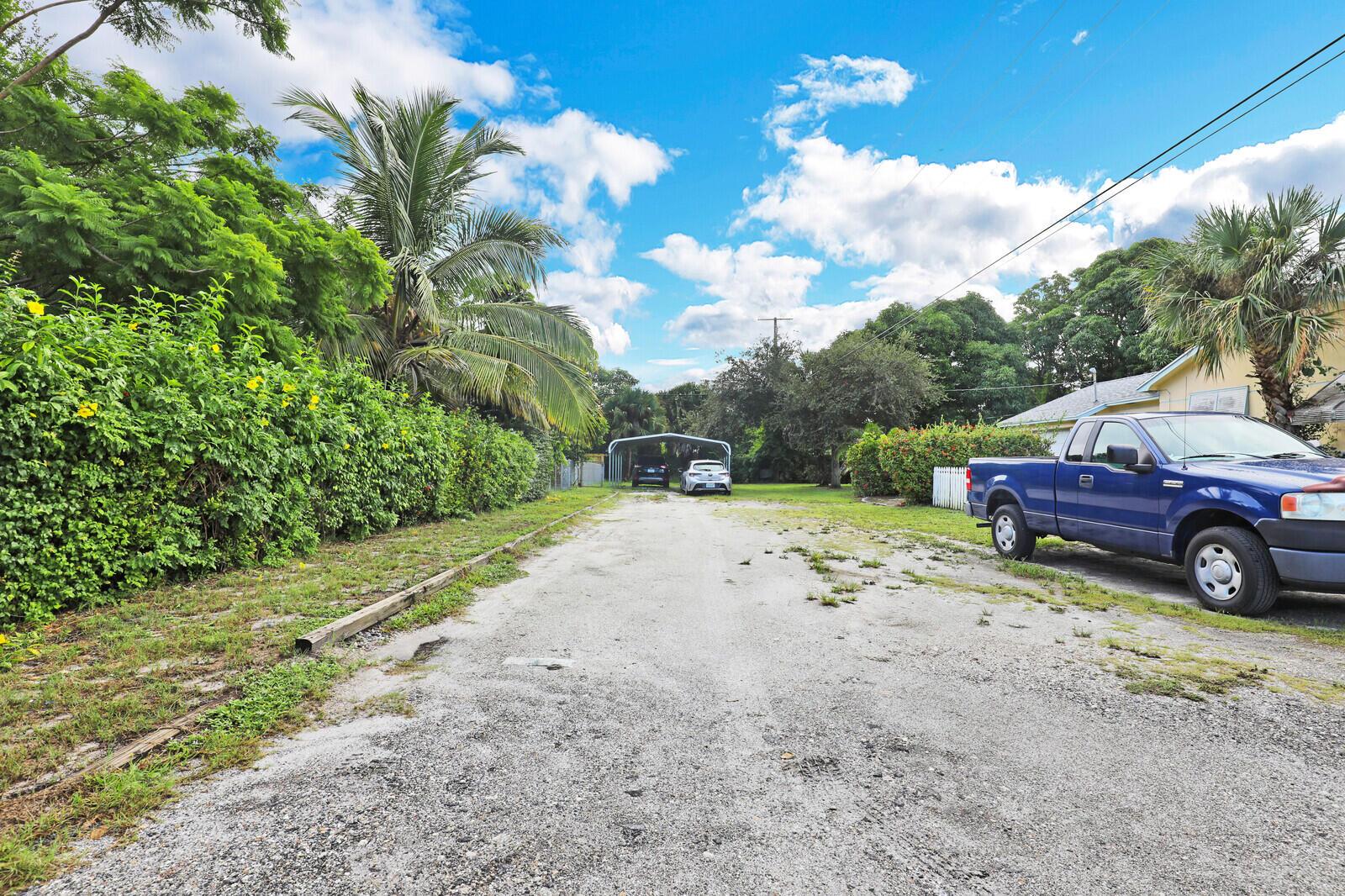 Driveway and Carport