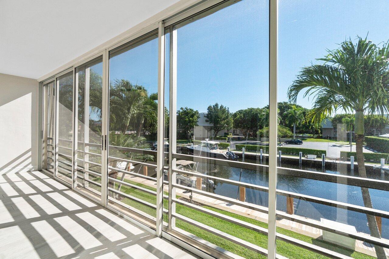 Floor to ceiling sliding glass