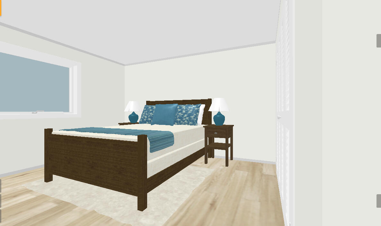 Bedroom 1 entry