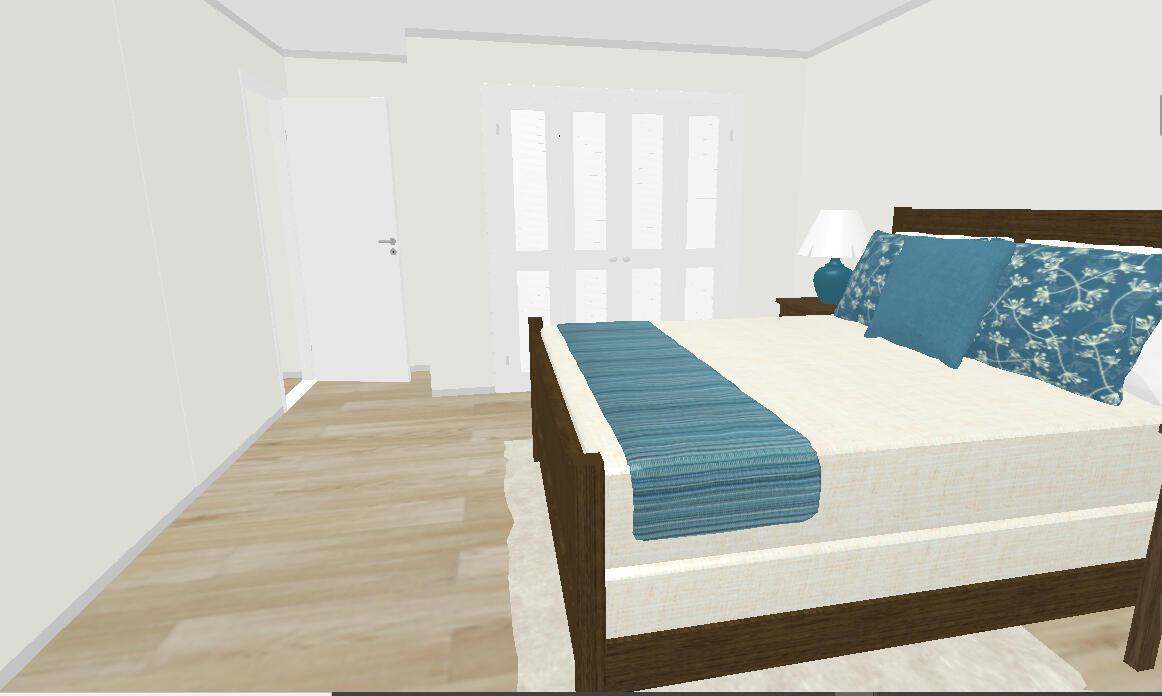 Bedroom 1 exit