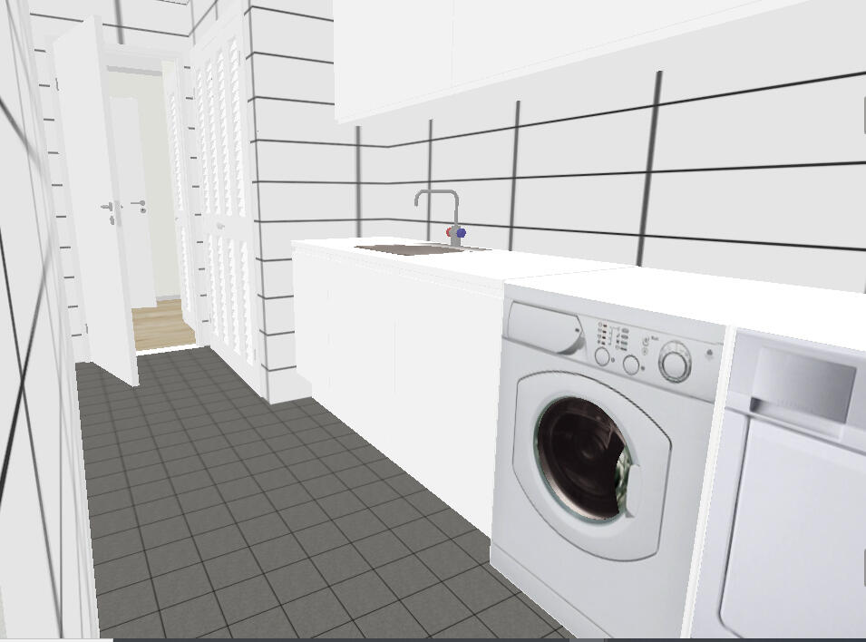 Laundry room out