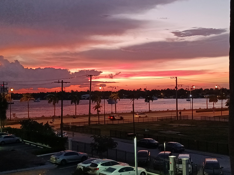 Sunset over Intracoastal