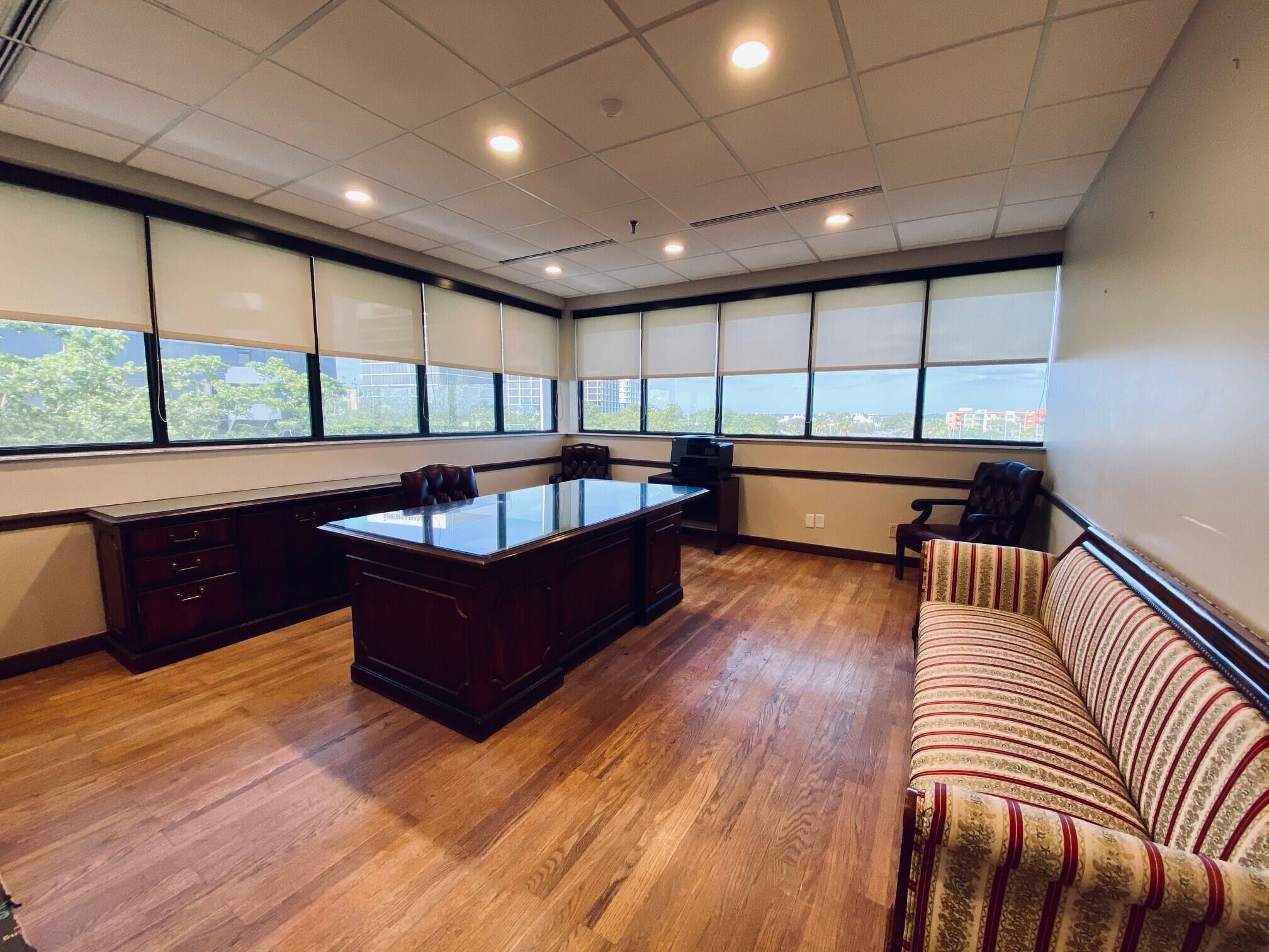 Interior Corner Office
