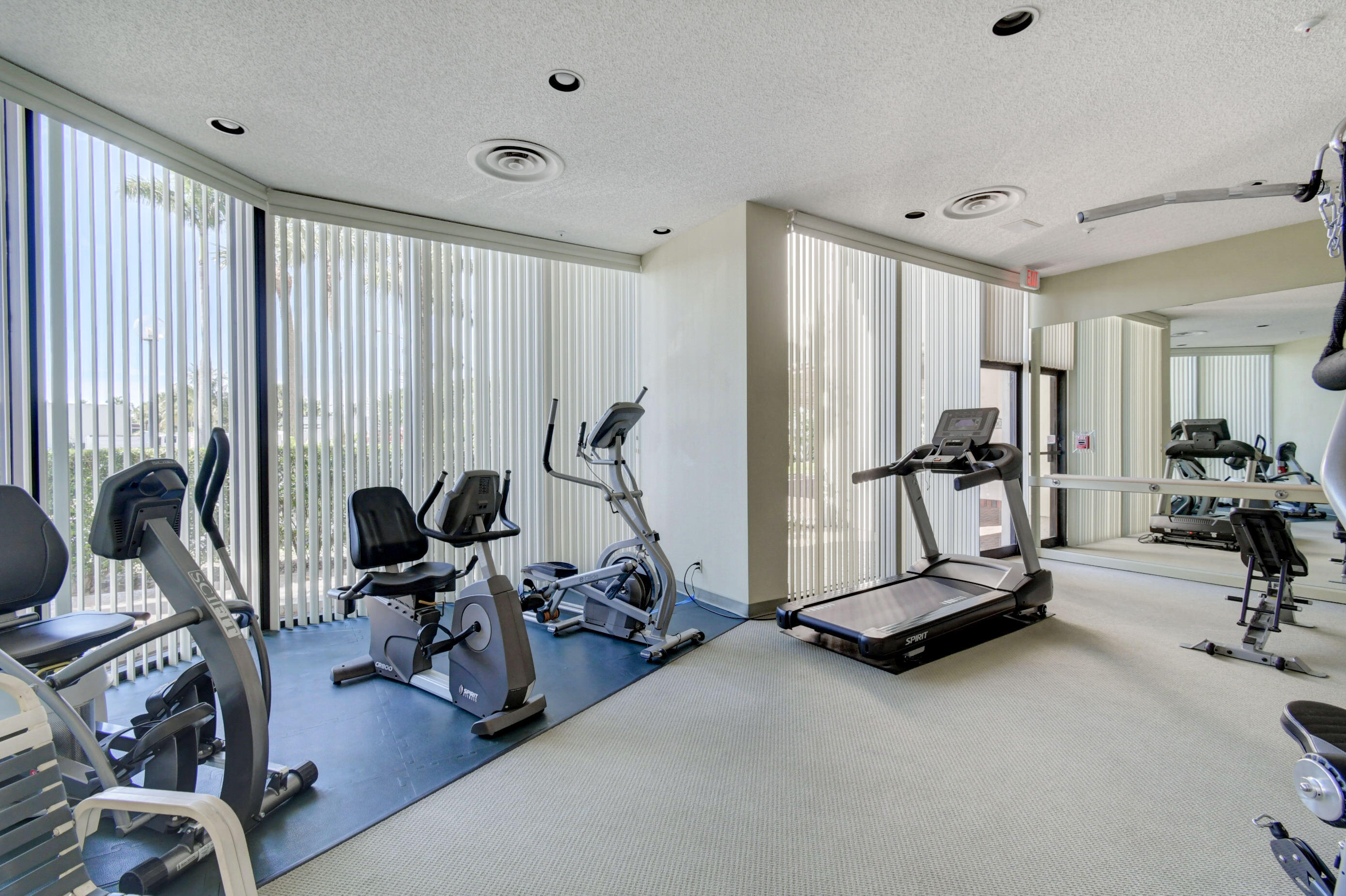 THE CONSULATE FITNESS ROOM