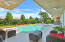 Pool and View of Back Yard