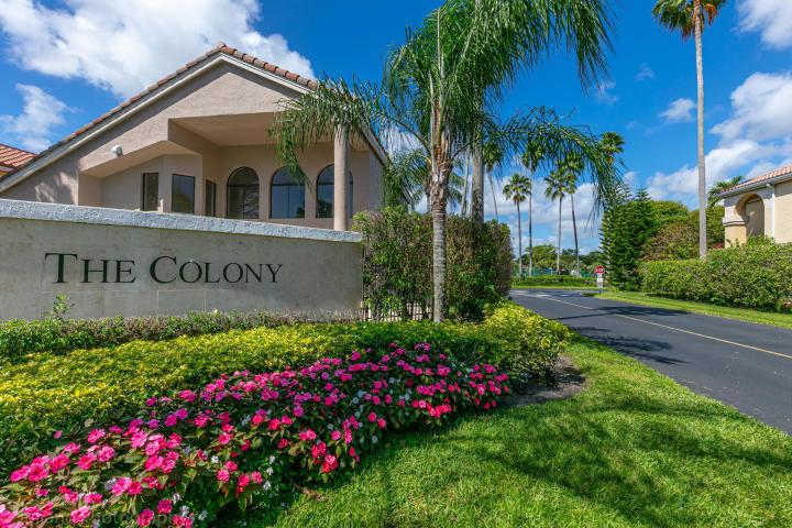 The Colony entrance