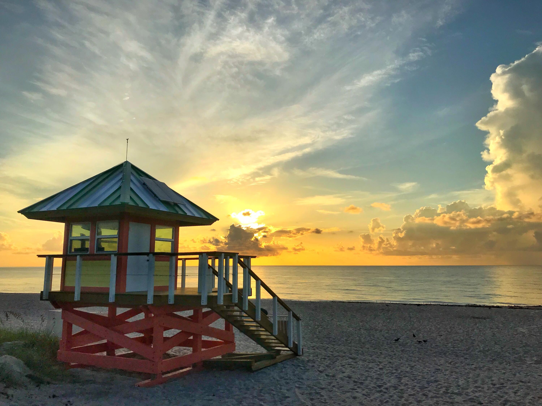 Sunrise on Delray Beach