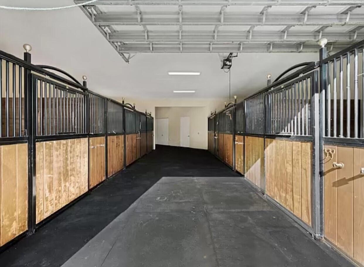 Draft Horse Stalls