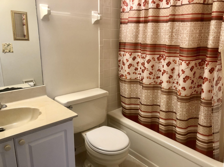 second bath with tub