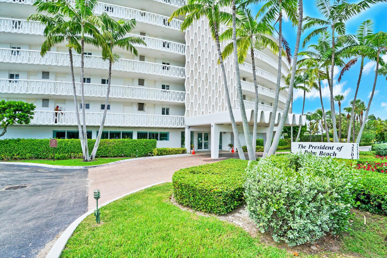 President of Palm Beach_building