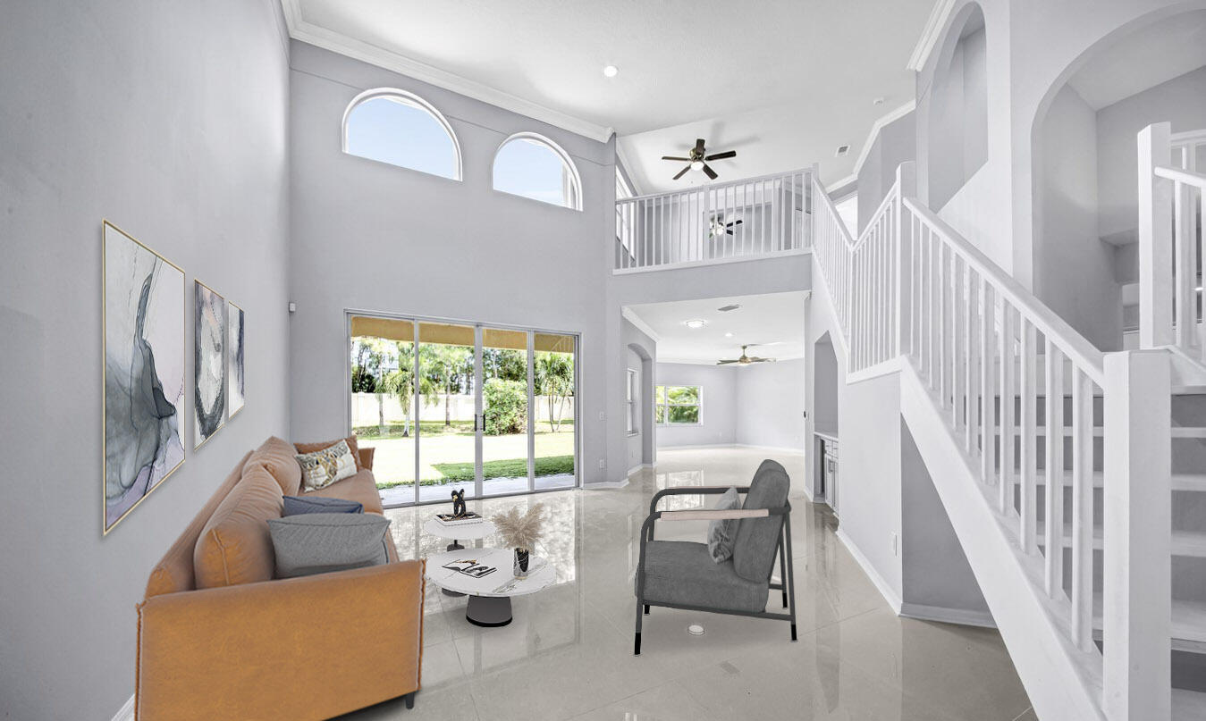 Two Story Ceiling