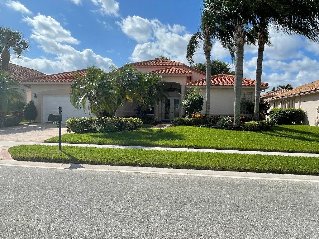 6640 Catania Drive Boynton Beach, FL 33472